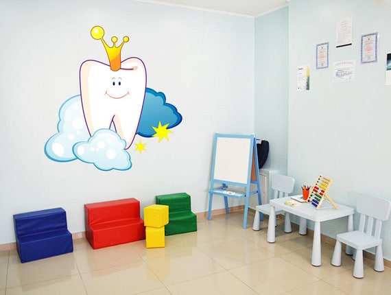 Exceptionnel Pediatric Dentist Wall Decal Teeth Tooth Wall Decal Dental | Etsy