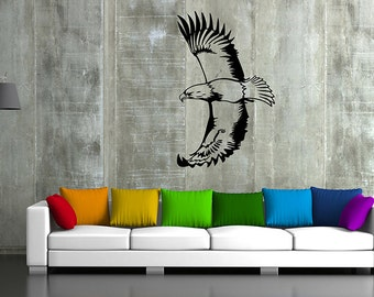Sea eagle Wall Decals eagle bird Wall Decals eagleWall Stickers Flying Bird Wall Art Bird Wall Decal Bird Wall Stickers kik50