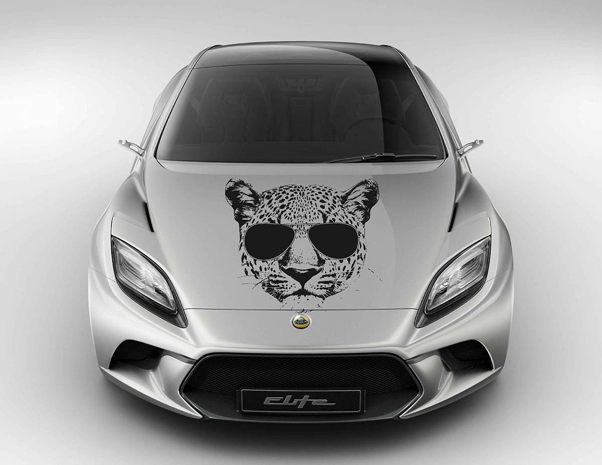 Sticker Car Jaguar