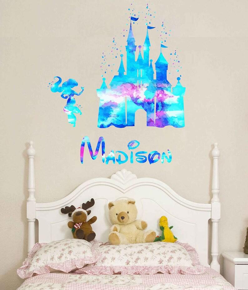 Stickers Kinderkamer Disney.Disney Kasteel Muur Sticker Kasteel Disney Kasteel Decal Etsy