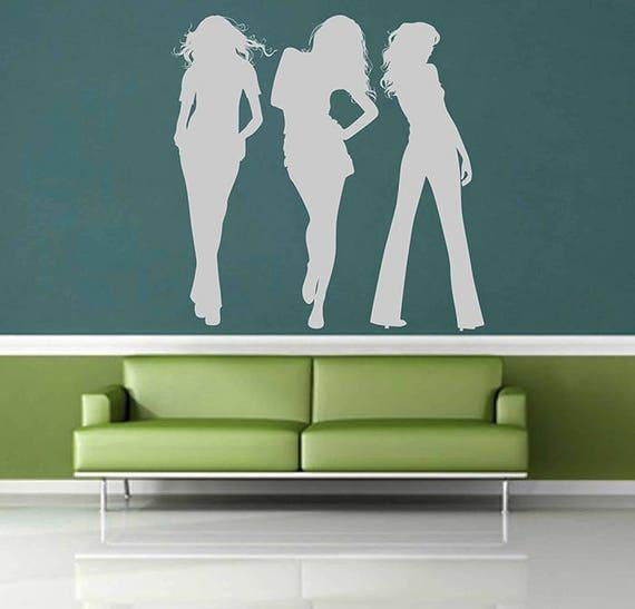 kik2993 wall decal sticker girls fashion designer clothes | etsy