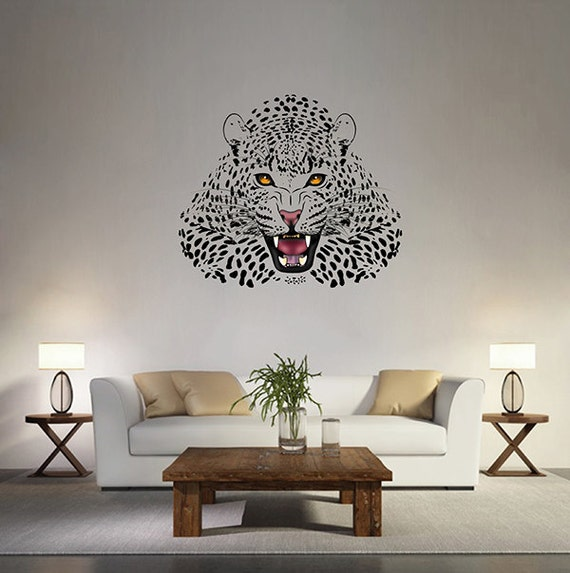 Home & Living Home Décor geometric tiger head Wall Decals multicolored tiger Wall Decals geometric animals Wall Decals for children kcik96