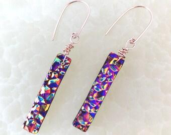 Rock On Earrings/ Lightweight Earrings/ Dangle Earrings / Simple Earrings / Metallic Bronze/Mother's Day Gift for Her/ Bestie gift/Mom gift