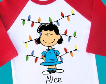 more colors lucy christmas shirt