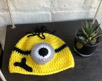 Minion Hat (NEWBORN)