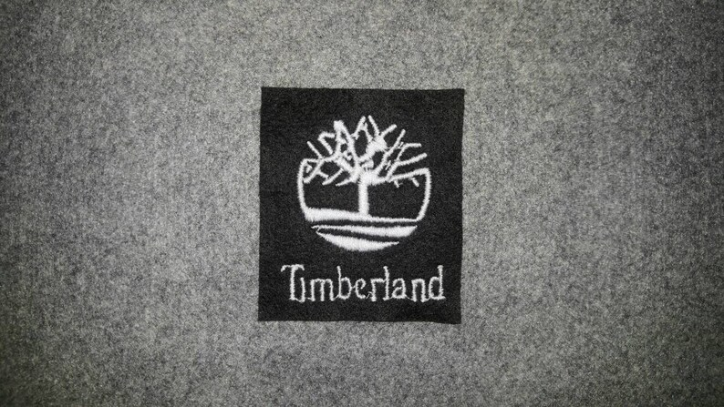 6a985edb87587 Timberland Embroider Logo Sew on Crest Badge for DIY Cap T