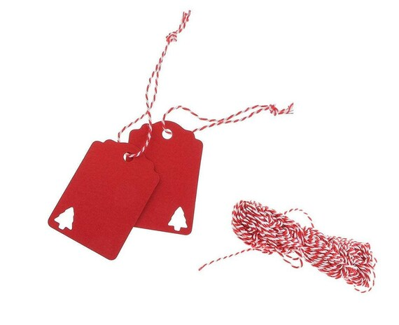 Christmas Name Tags.100 Christmas Name Tags Red Christmas Gift Tags Tree Tags Packaging Tag Tree Ornaments Cardboard Tag Party Kraft Tag Thank You Tag