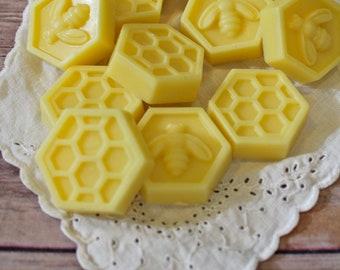 Beeswax Tallow Wax Melts - Beeswax Melts - Tallow Wax Melts - Organic - Beeswax - Tallow - Wax Tarts - Wax Melts - Garden Light Candles