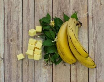 Banana Beeswax Tallow Wax Melts - Beeswax Melts - Tallow Wax Melts - Organic Fragrance - Banana - Beeswax - Fruit - Garden Light Candles