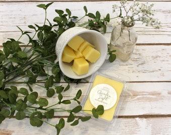 Gardenia Beeswax Tallow Wax Melts - Beeswax Melts - Tallow Wax Melts - Organic - Beeswax - Tallow - Gardenia - Garden Light Candles