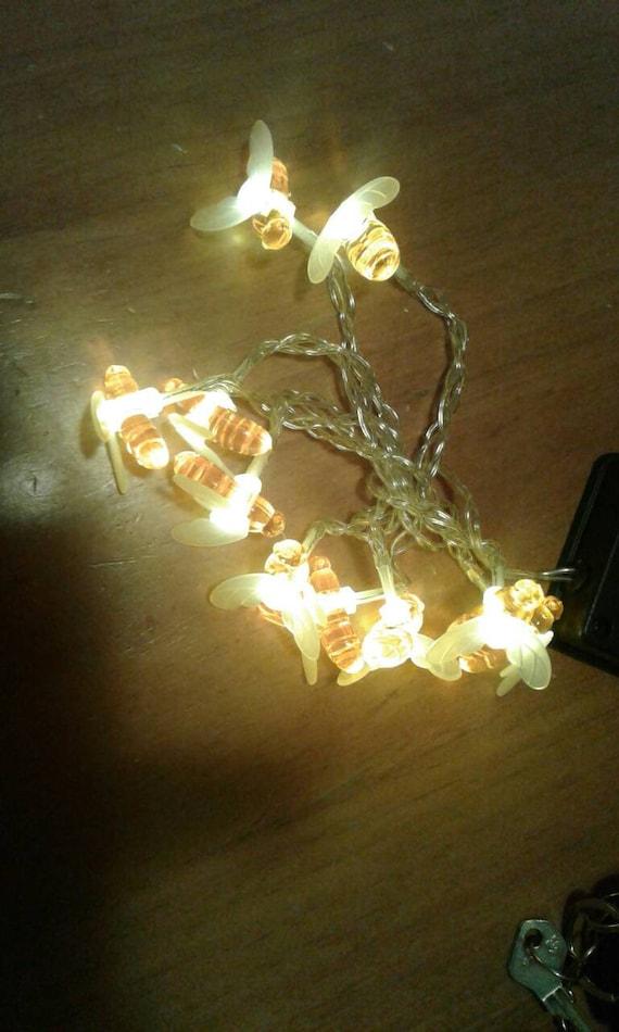 Led String Fairy Lights Bee Fairy Lights String Lights