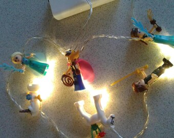 Frozen Inspired #Led string lights,#novelty lights , #nursery lights, #party lights, #battery operated, led lights