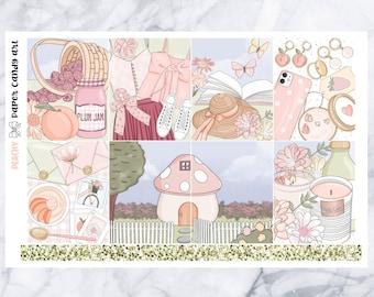 EC MINI KIT Peachy  Weekly Planner Stickers Kit  Erin Condren