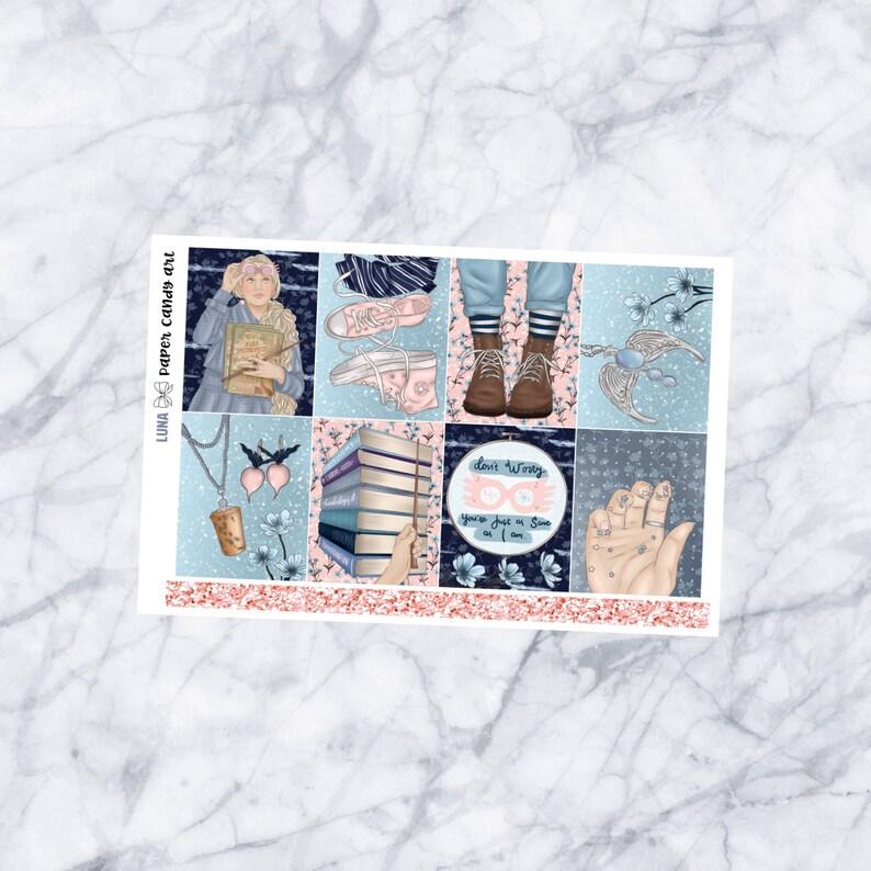 EC MINI KIT Luna  Weekly Planner Stickers Kit  Erin Condren