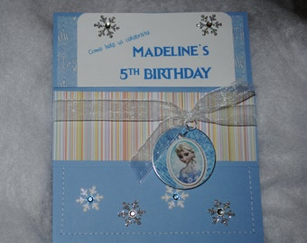 Disney Frozen Birthday Party Invitations Set of 10