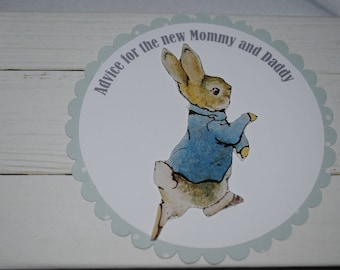 Peter Rabbit Baby Advice Book for Boy