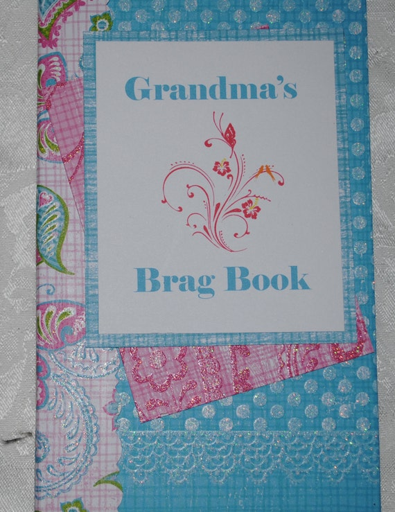 Grandmas Brag Book Waterfall Album Etsy