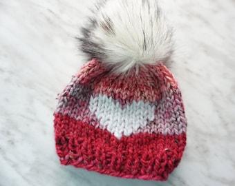 38fdddd233ed Big pom baby hat