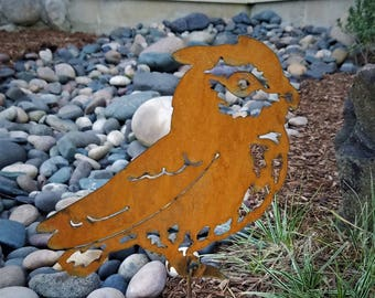 Owl Garden Stake | Etsy