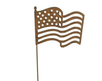 f8c09210043 Metal American Flag Art
