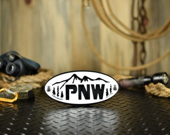 PNW Hitch Cover | Pacific Northwest | Washington | Oregon | Idaho | Trailer Hitch Receiver | Accessories