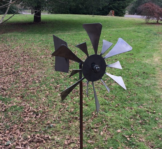 Kinetic Wind Spinner Metal, Wind Spinners For Garden