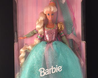 Vintage Barbie as Rapunzel/In the box/Mattle Toys/1994
