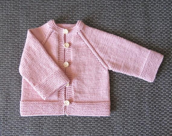 Neugeborene Neugeborenen Strickjacke Pullover stricken Baby | Etsy