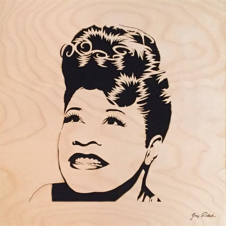 Ella Fitzgerald Portrait Mama Jazz Portrait by image 0