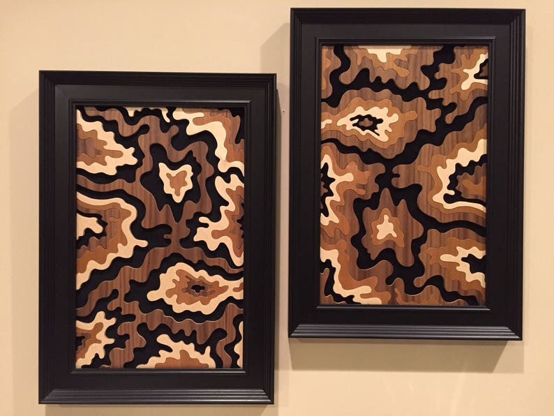 Wood wall art Filling The Void 2 by Jay Roberts image 0
