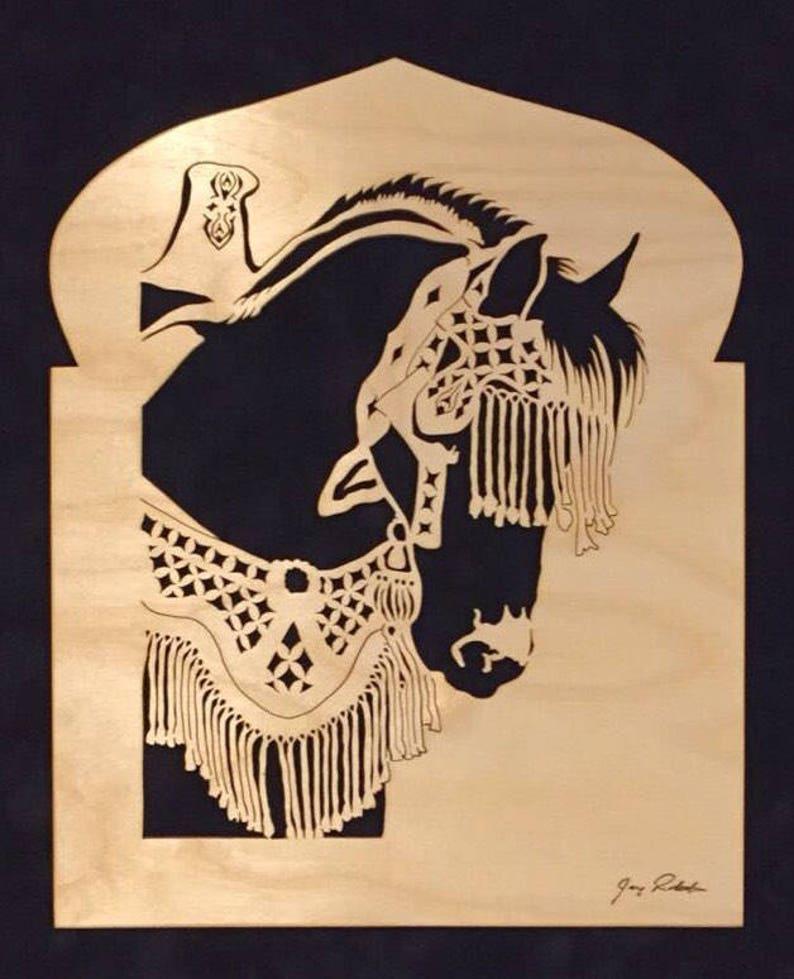 Horse portrait Fantasia Horse by Jay Roberts image 0