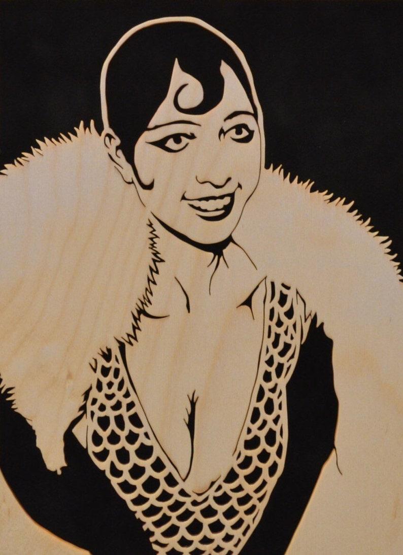 Josephine Baker Portrait Jazz Age Icon Portrait by image 0