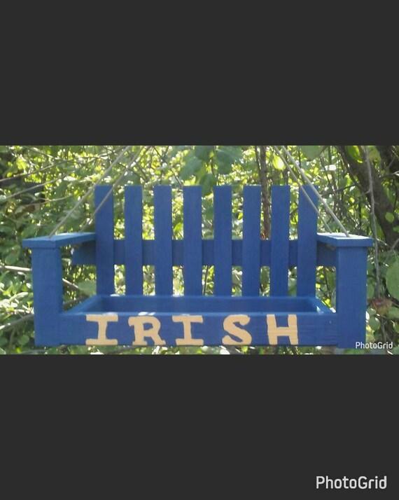 Notre Dame bird feeder Irish Football Christmas Gift for | Etsy