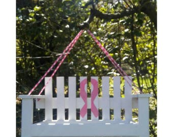 Breast Cancer Awareness -  Bird Feeder - Breast cancer Gift - Pink Strong -  bird feeder - Relay For Life-  gift for her - bird house