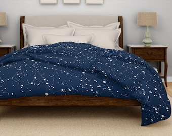 Constellation duvet etsy duvet cover queen boho modern duvet cover king blue bohemian duvet cover twin grey poly microfiber night sky star constellation chart map gumiabroncs Choice Image