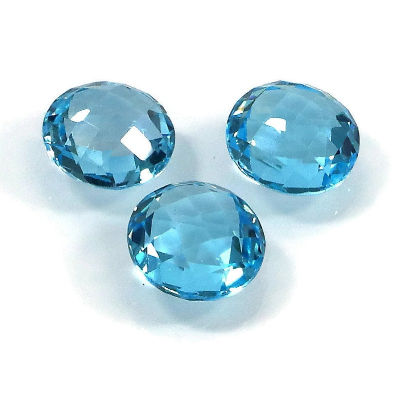 DIAMOND QUARTZ 18X13 MM OVAL CUT BRIOLETTE ALL NATURAL AAA