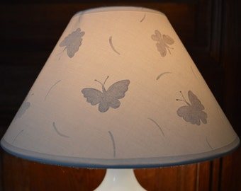 lamp white  butterfly