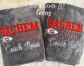 Coach Custom Blanket