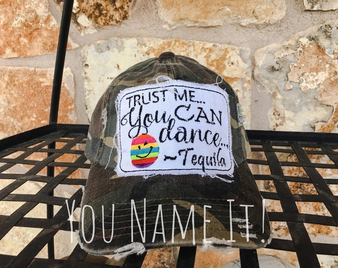 Trust Me, You Can Dance Baseball Cap