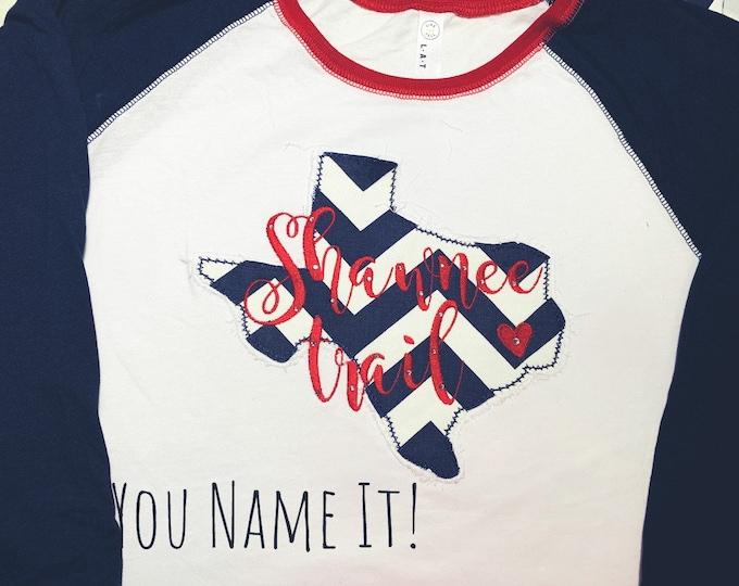 Custom Order - Shawnee Trail Shirt