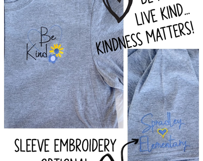 Be Kind Tee Shirt Design