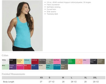 Upgrade - Womens Ideal Racerback Tank Top