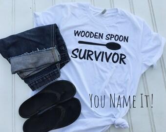 Wooden Spoon Survivor tee