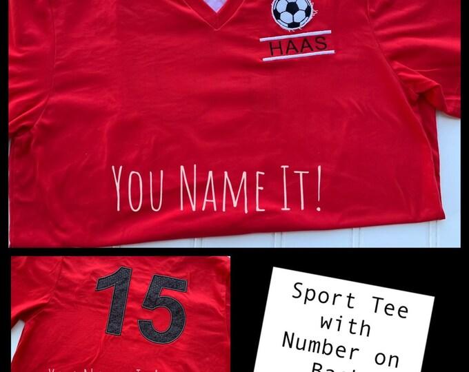 Sport Name Number Design