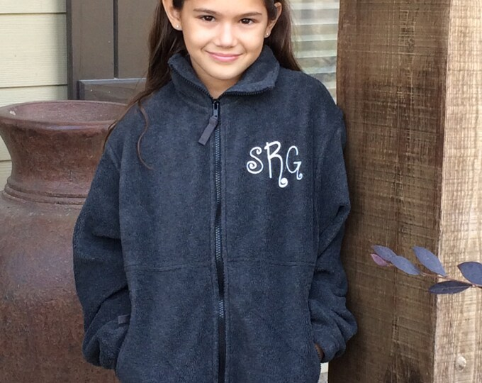 Unisex Full Zip, Kids