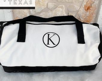 Cotton Barrel Duffle Bag