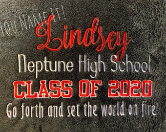 Class of 2020 Blanket - Newly Designed