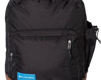 Monogrammed Columbia Brand Backpack