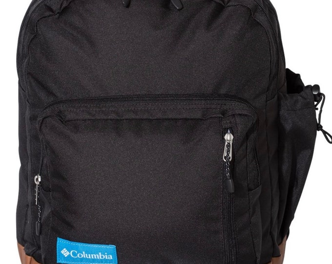 Monogrammed Columbia Brand Backpack