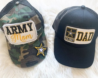 Army Mom or Dad Trucker Hat